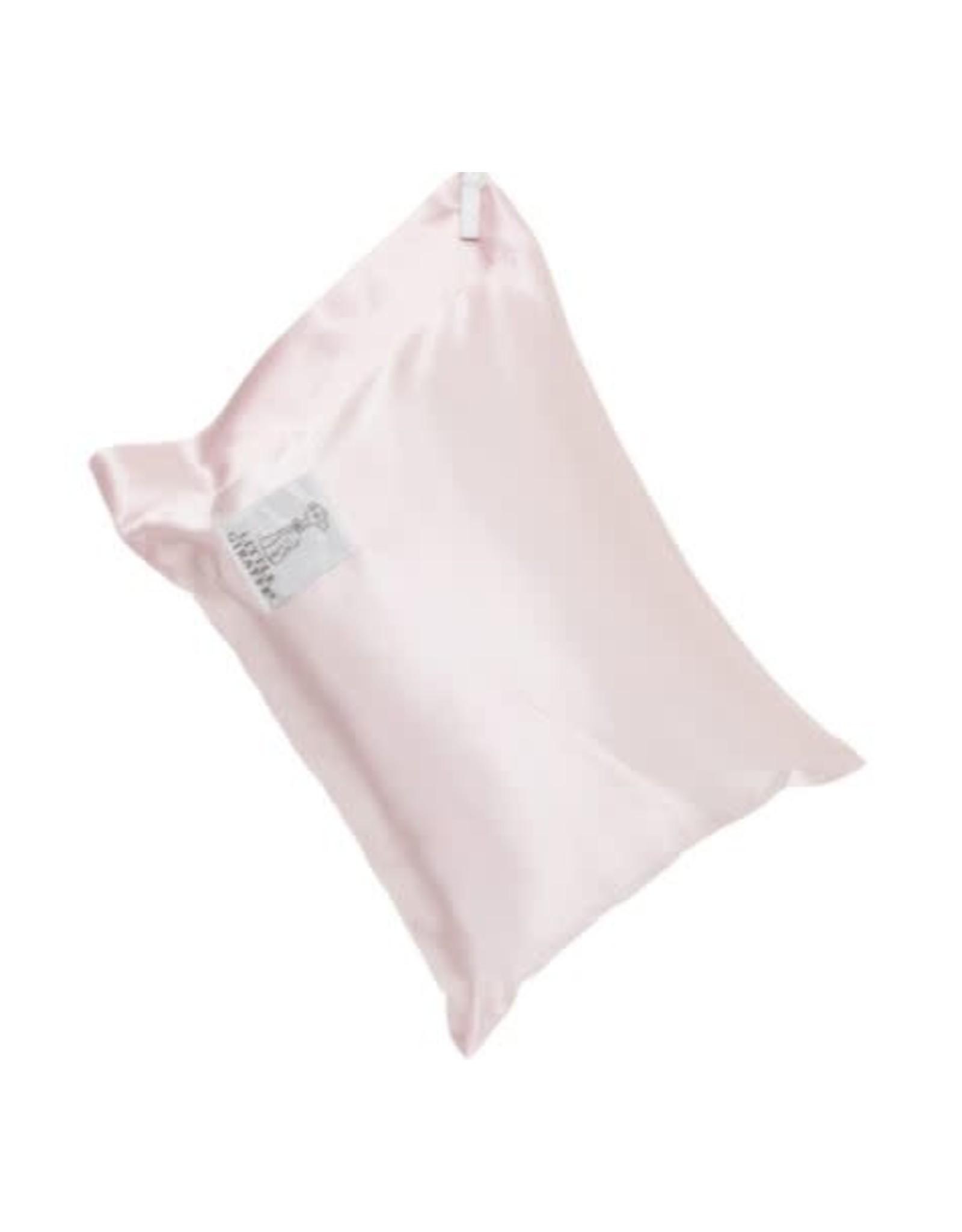 Little Giraffe Pink Satin Nap Pillow