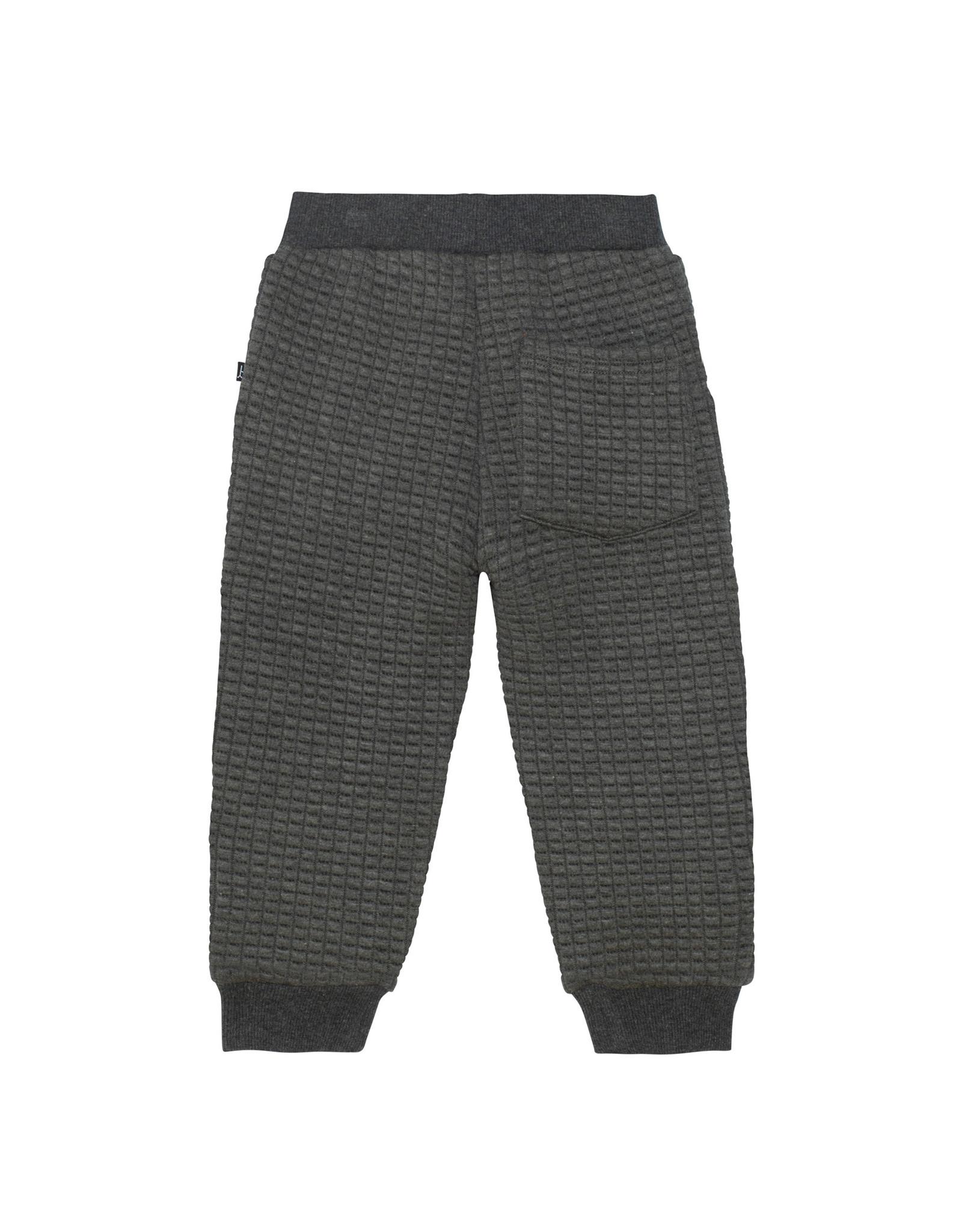 Deux Par Deux Quilted Sweatpants w/Contrast Knee