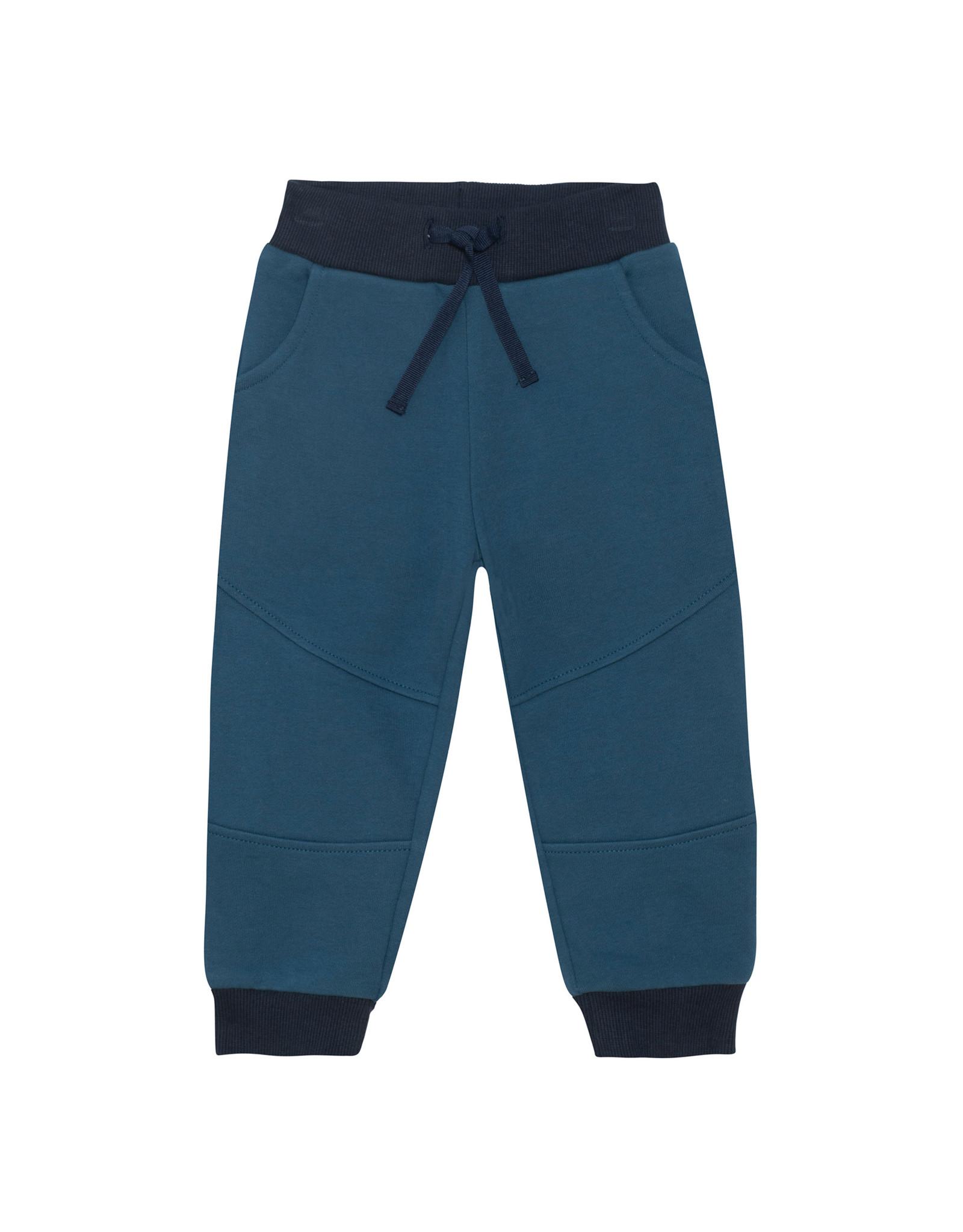 Deux Par Deux China Blue Fleece Sweatpants