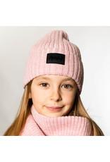 Deux Par Deux Pink Knitted DPD Hat