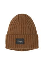 Deux Par Deux Mocha Bisque Knitted Hat