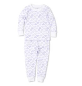 Kissy Kissy Heart to Heart Pajama Set in Lilac