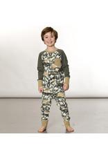 Deux Par Deux Dinosaur Pajama Set (2pcs)