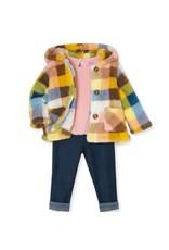 Little Me Multi Color Sherpa Jacket Set (3pc)