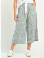 Wide Leg Pant with Elastic Waist