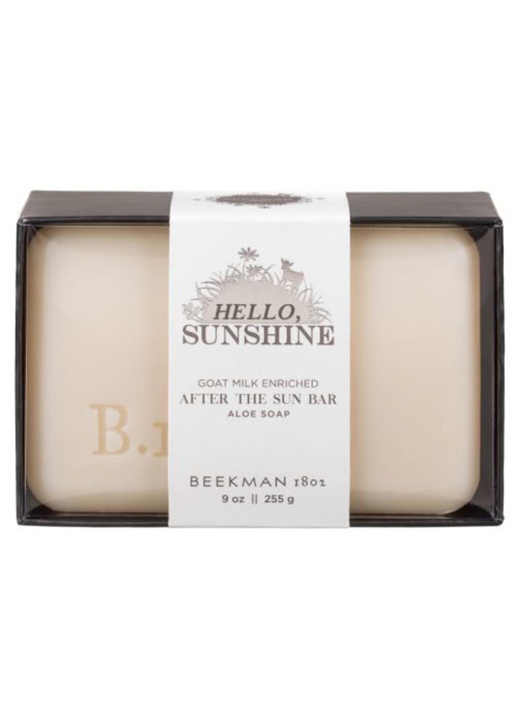 Beekman 1802 Hello Sunshine After The Sun Bar Soap