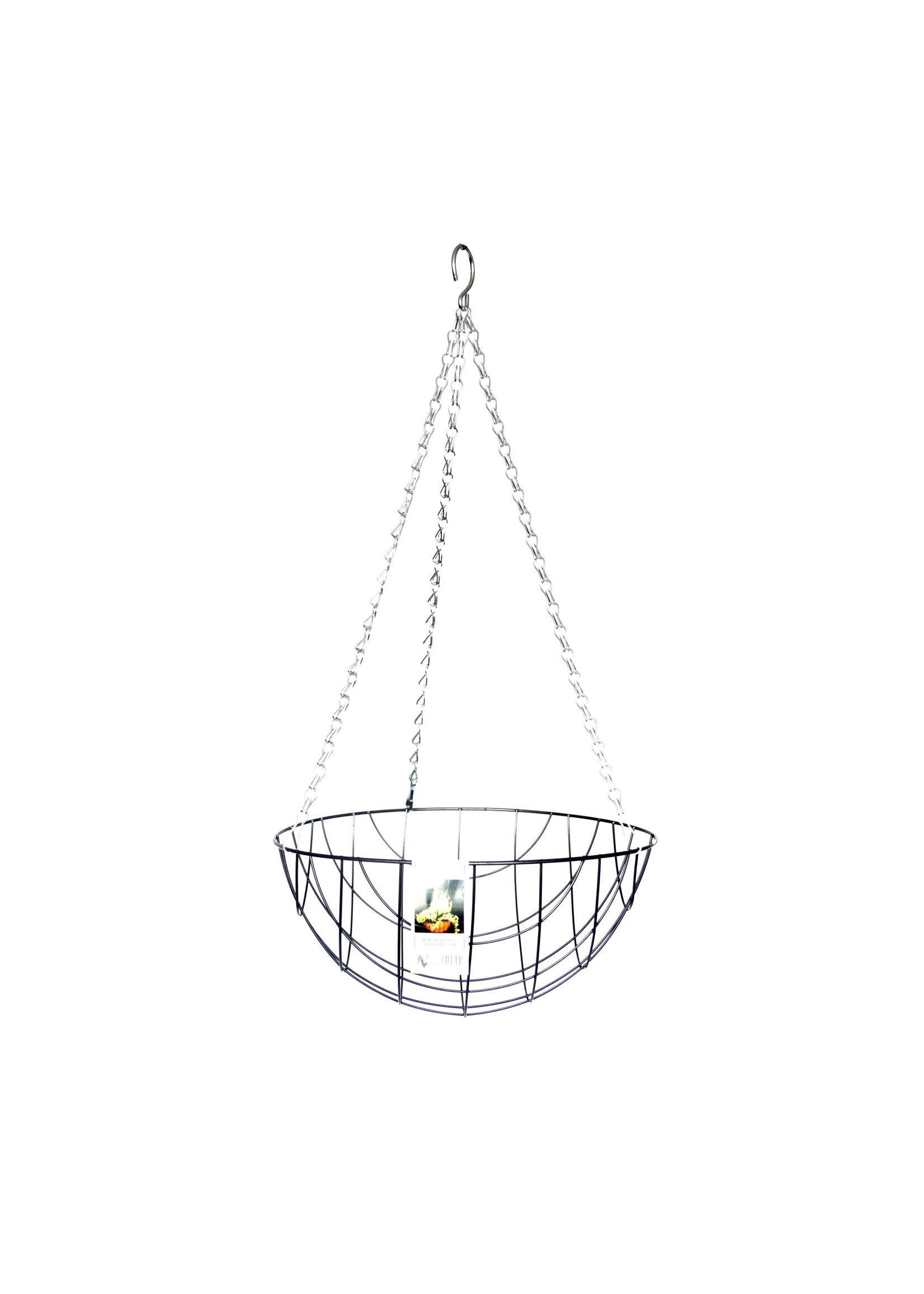 """Metal Hanging Basket 12"""""""