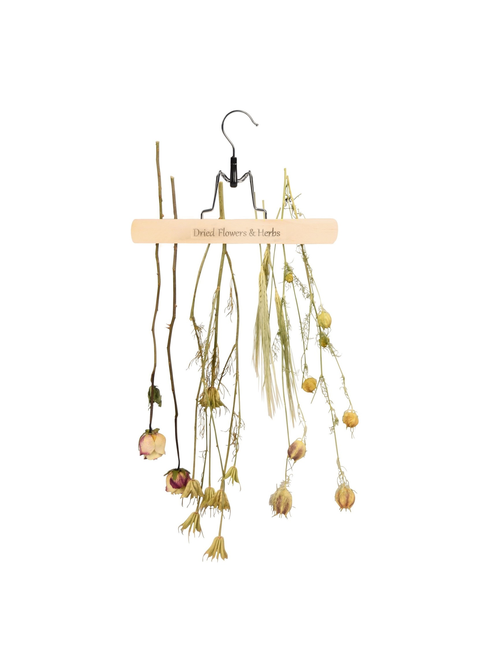 Flower and Herb Drying Rack Clamp