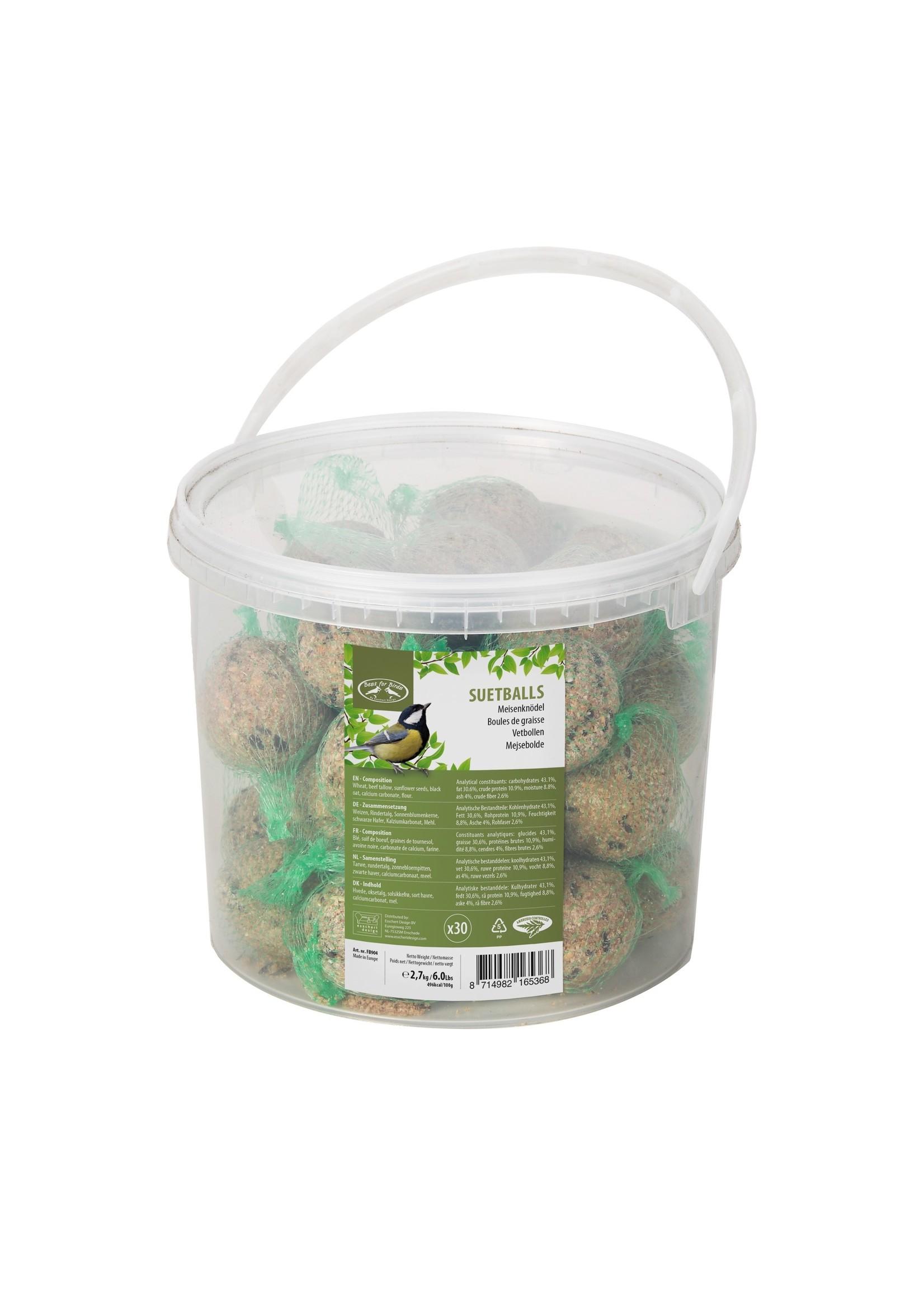 Suetballs 30pcs in Bucket