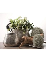 Wood Grain Metallic Vases