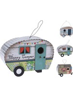 Wood Birdhouse Caravan