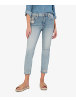 Rachael Mom Jean w/ Raw Hem