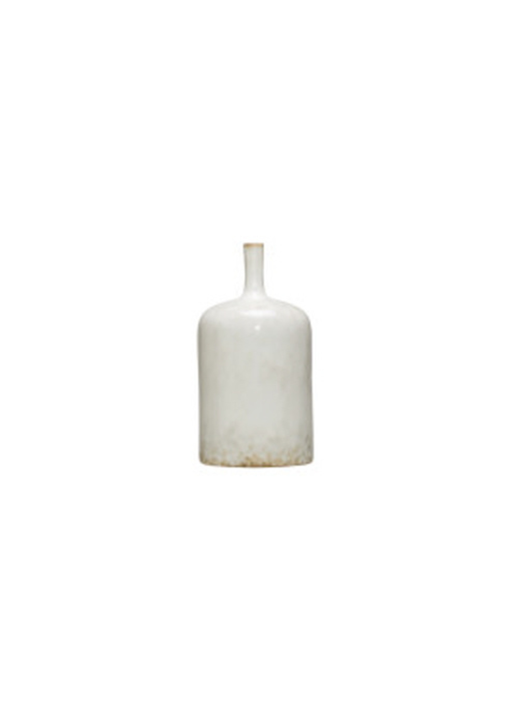 Round Stoneware Vase