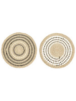 Round Hand-woven Seagrass Placemat