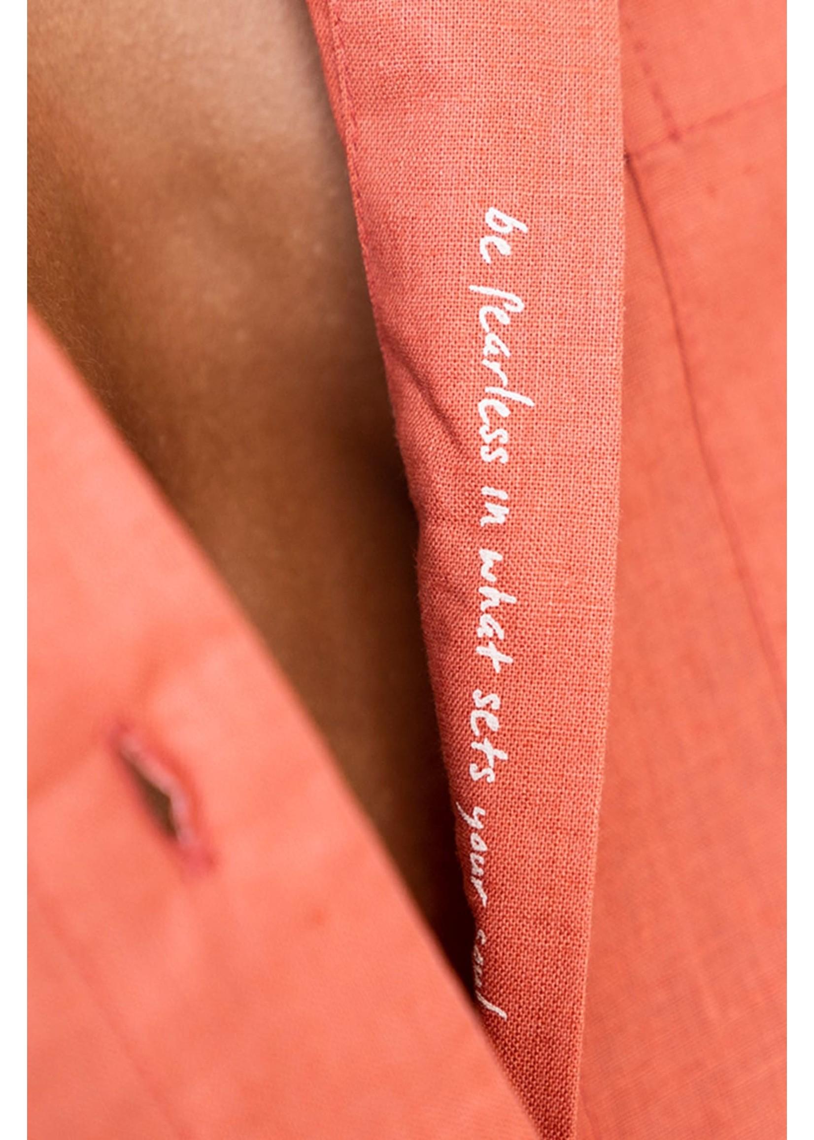 OM + AH Linen Boyfriend Shirt