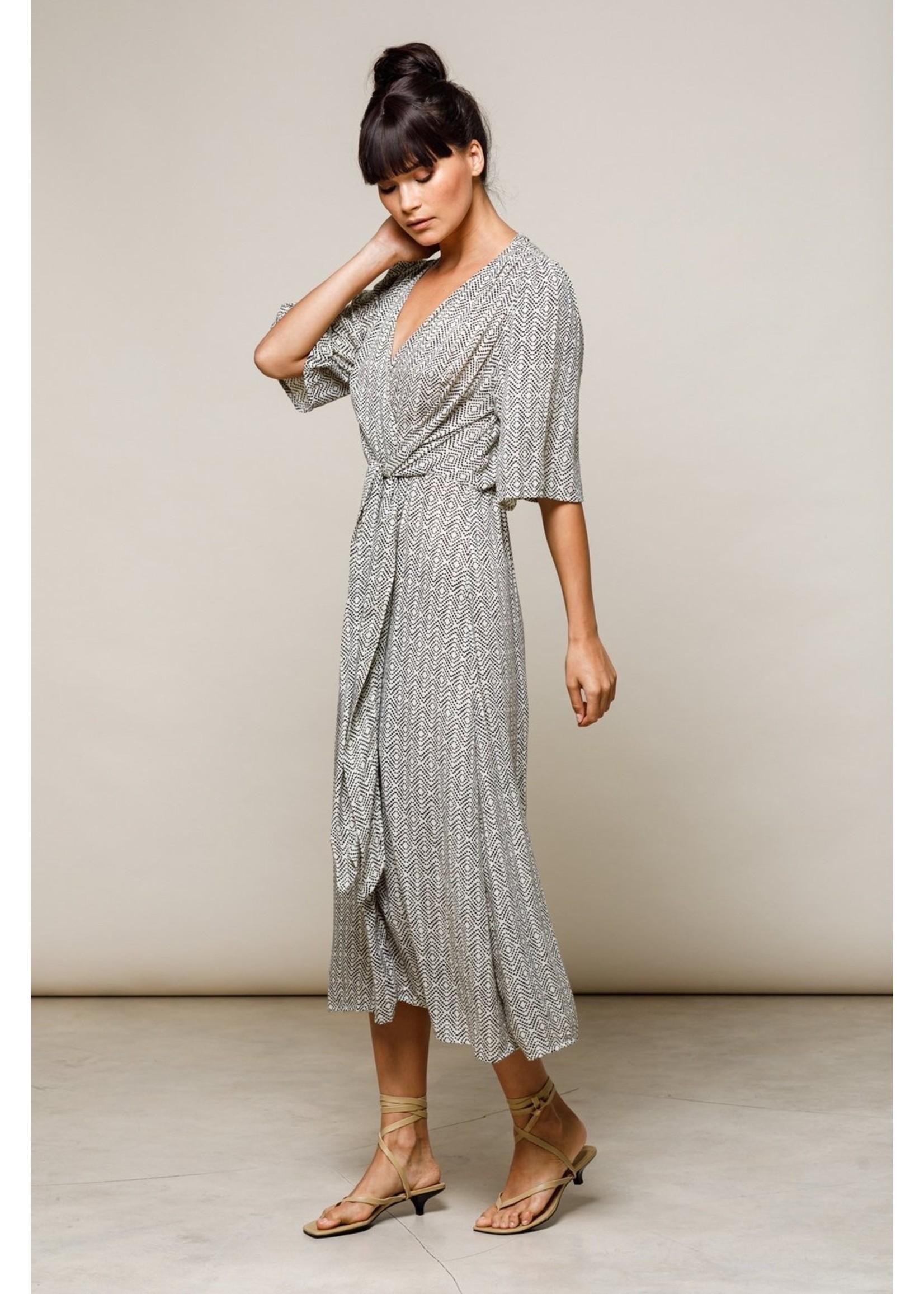 Beachgold Aja Midi Dress