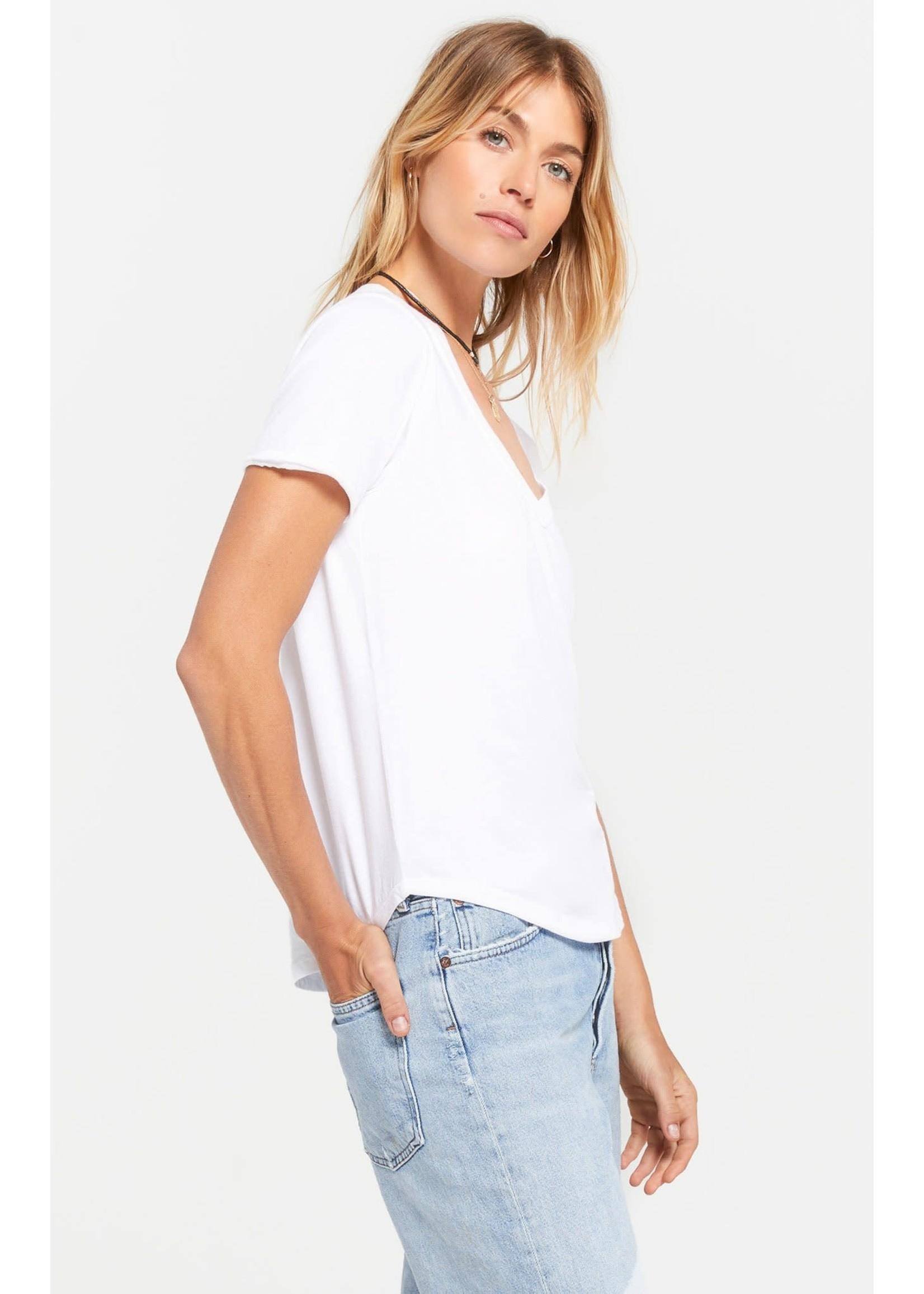 Z Supply Organic Cotton V-Neck