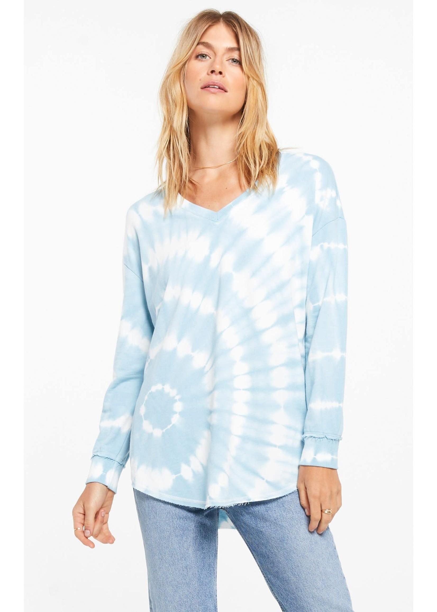 Z Supply V-Neck Spiral Tie-Dye Weekender