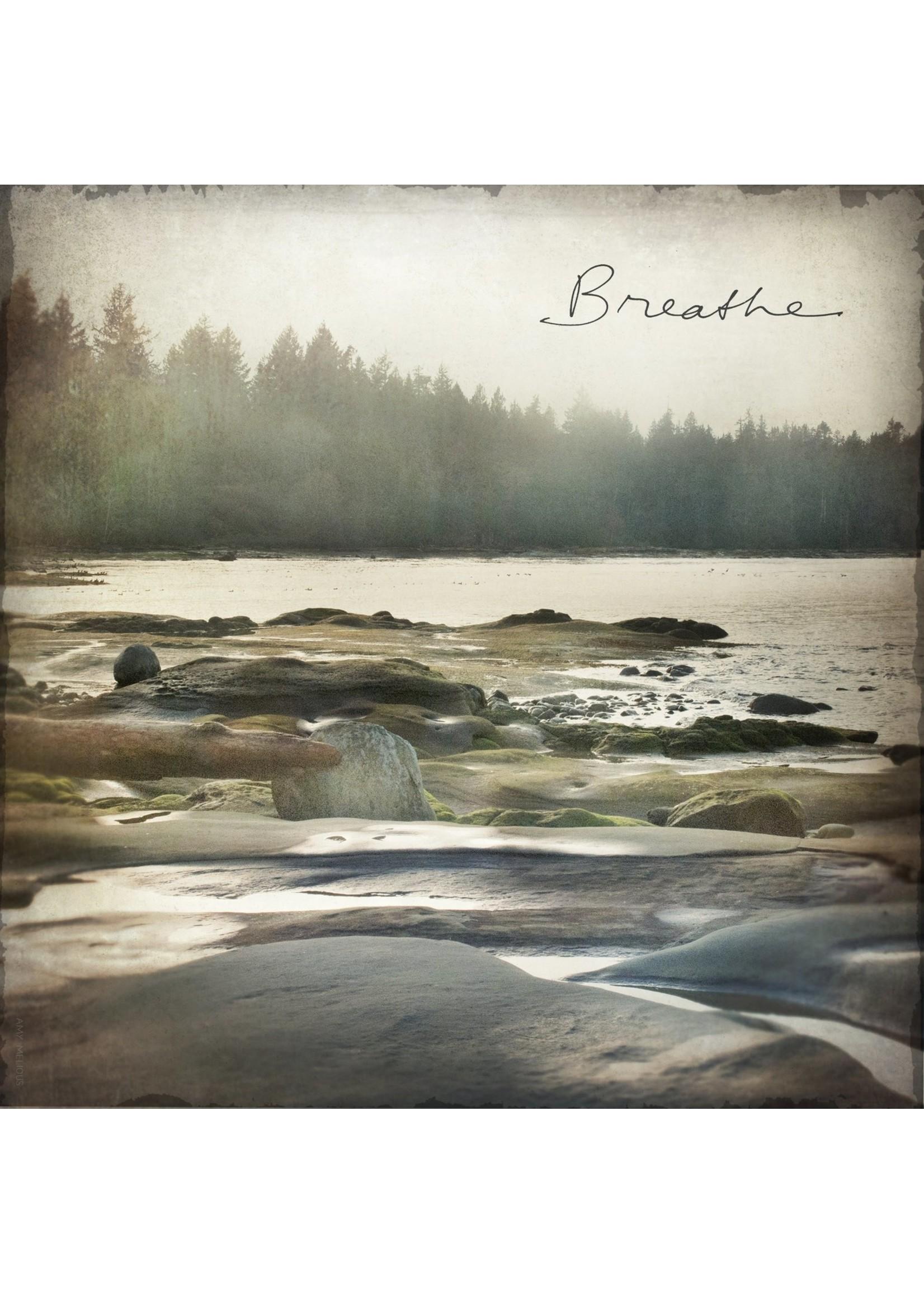 Breath Beach Marble Coaster