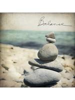 Balance Rocks Marble Coaster
