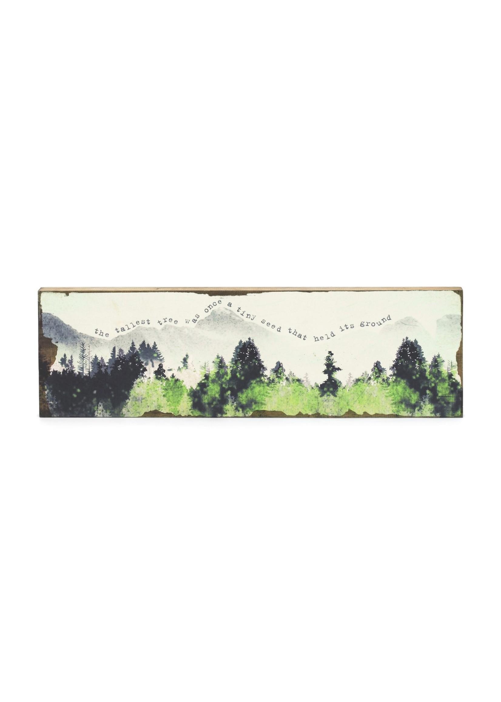 Cedar Mountain Studios The Tallest Tree Timber Wall Art