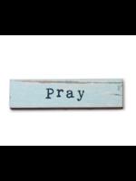 Cedar Mountain Studios Pray Timber Magnet