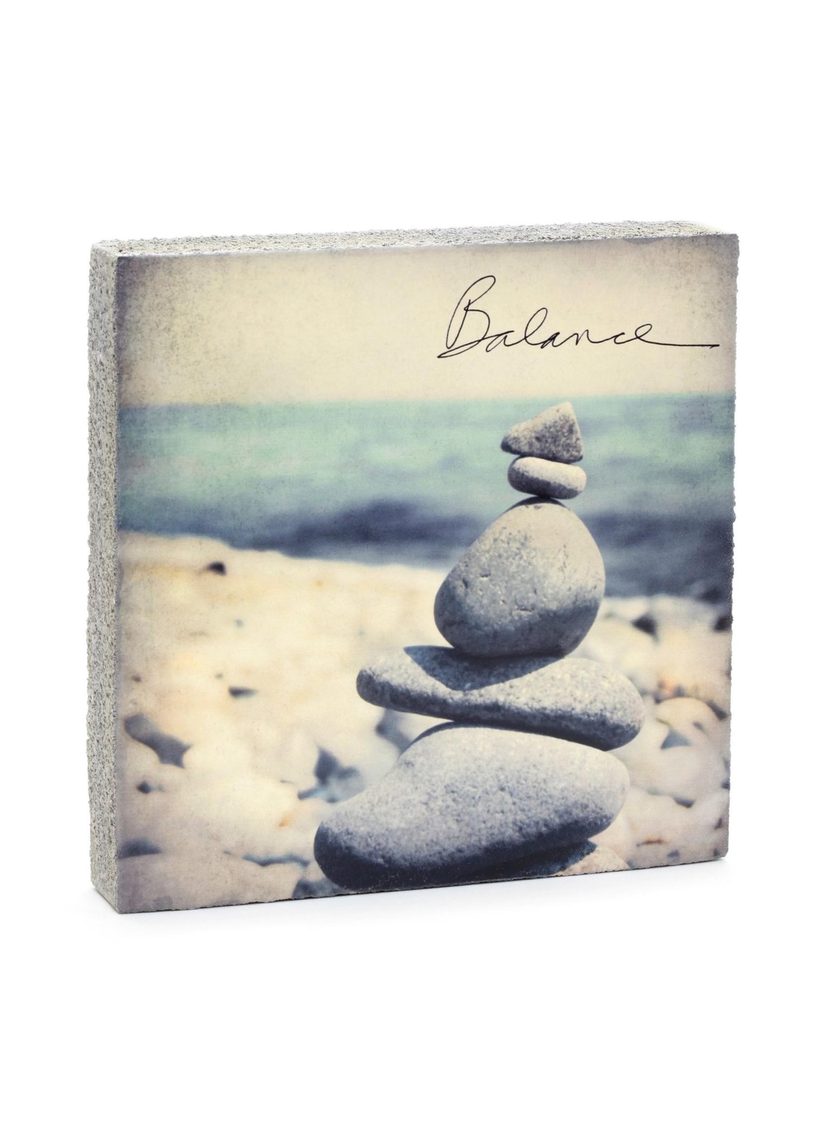 Cedar Mountain Studios Balance Rocks Art Block