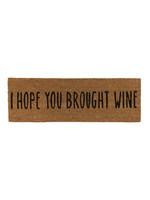 Brought Wine Doormat
