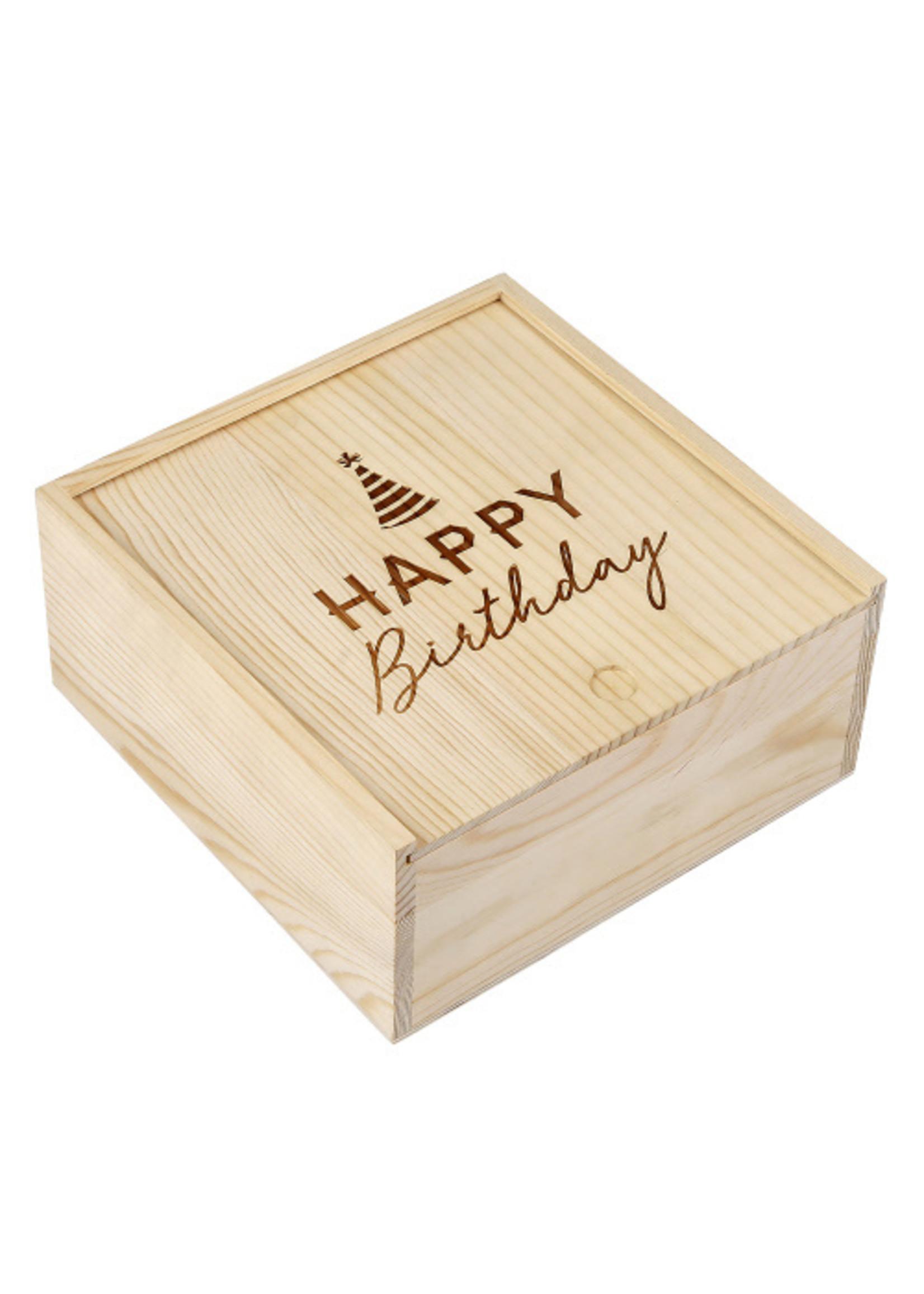 """Happy Birthday"" Sweets Box"