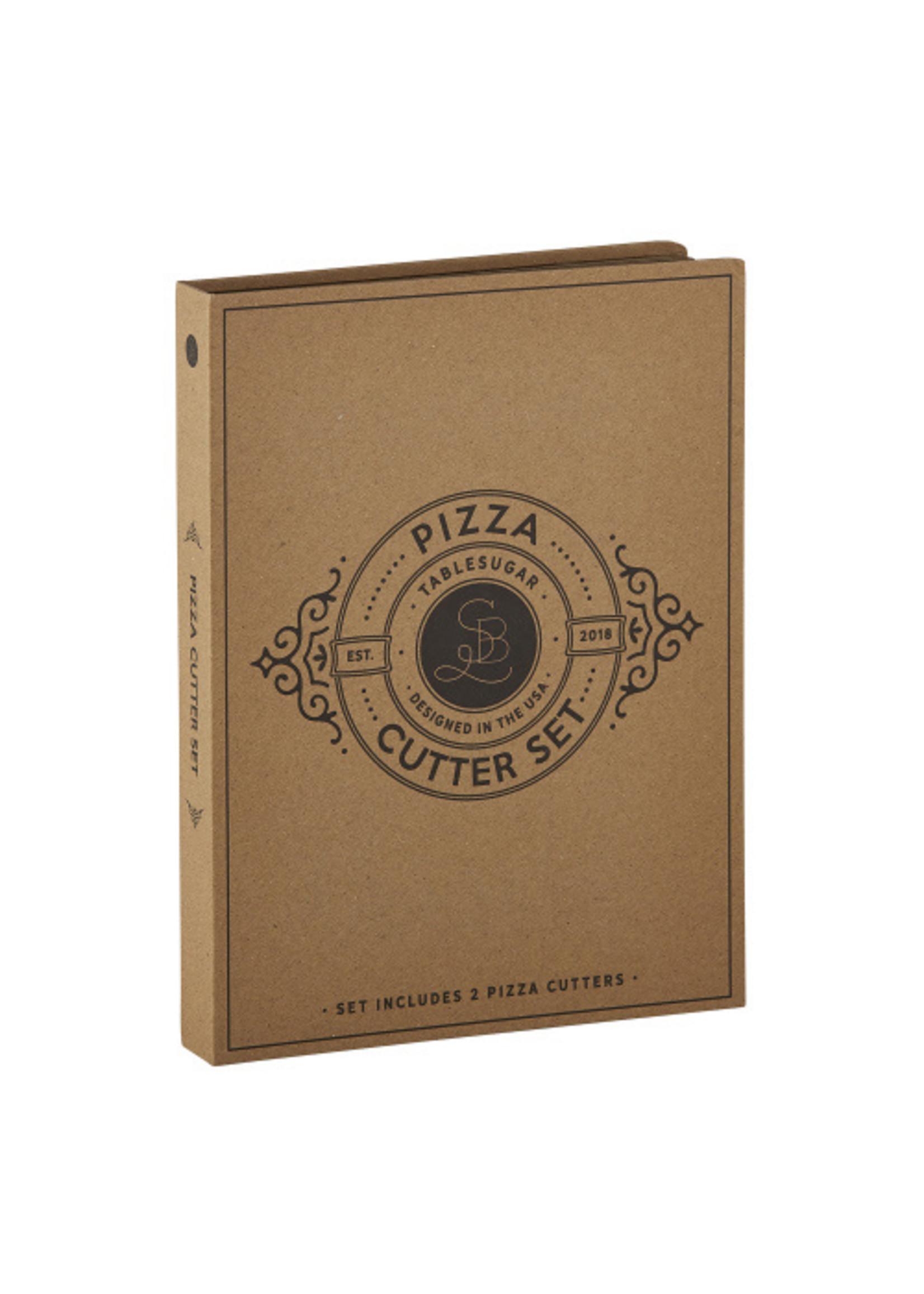 Pizza Cutter Cardboard book set