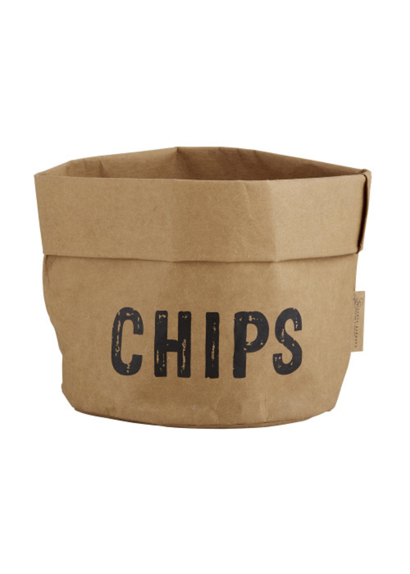 Washable Paper Chips Holder