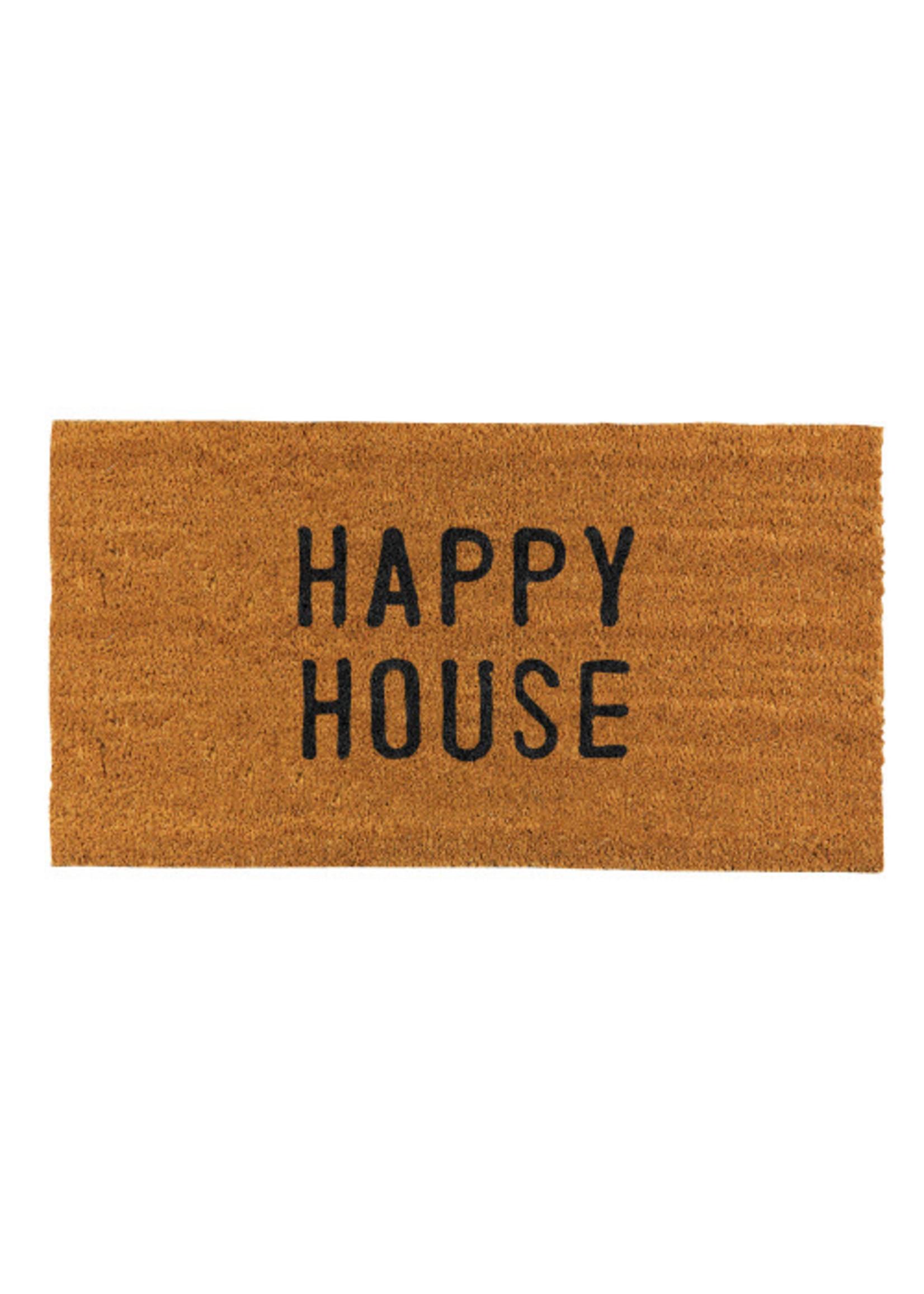 Happy House Doormat