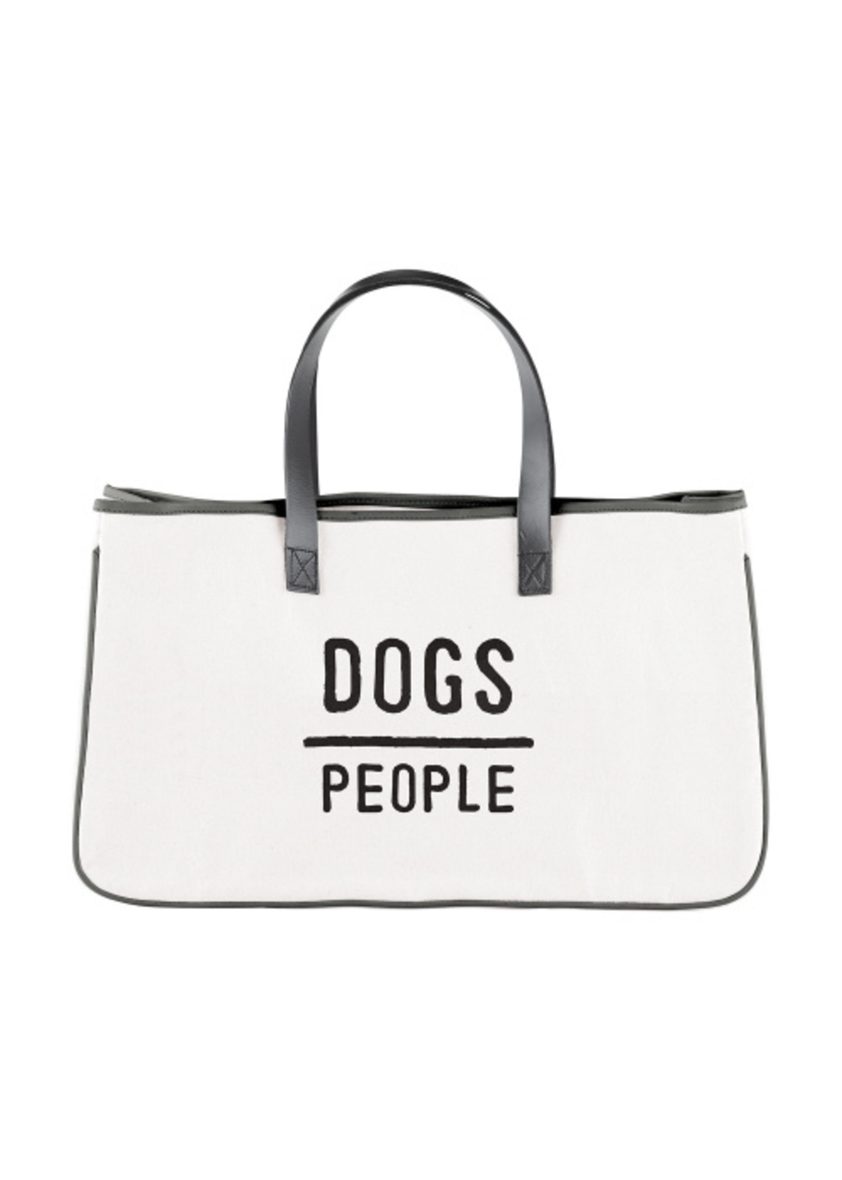 Dogs/People Canvas Tote