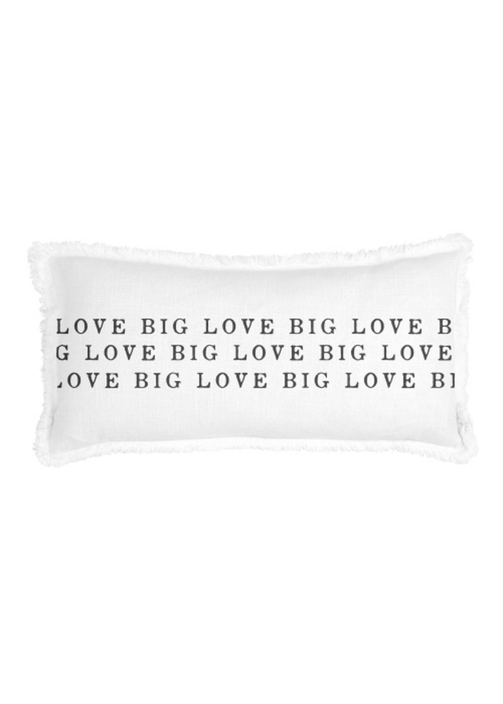 Love Big Lumbar Pillow