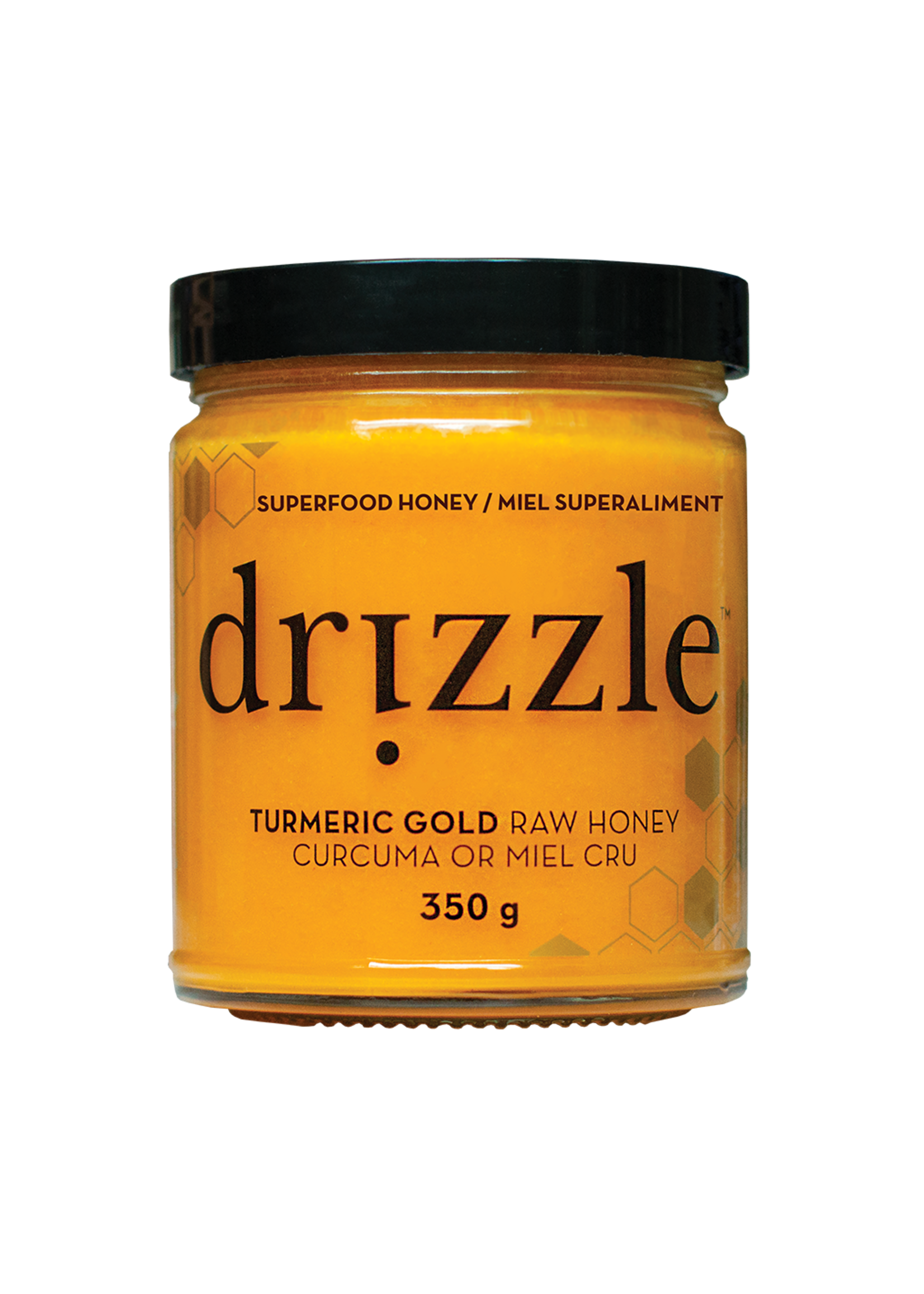 Drizzle Honey Turmeric Gold Superfood Honey
