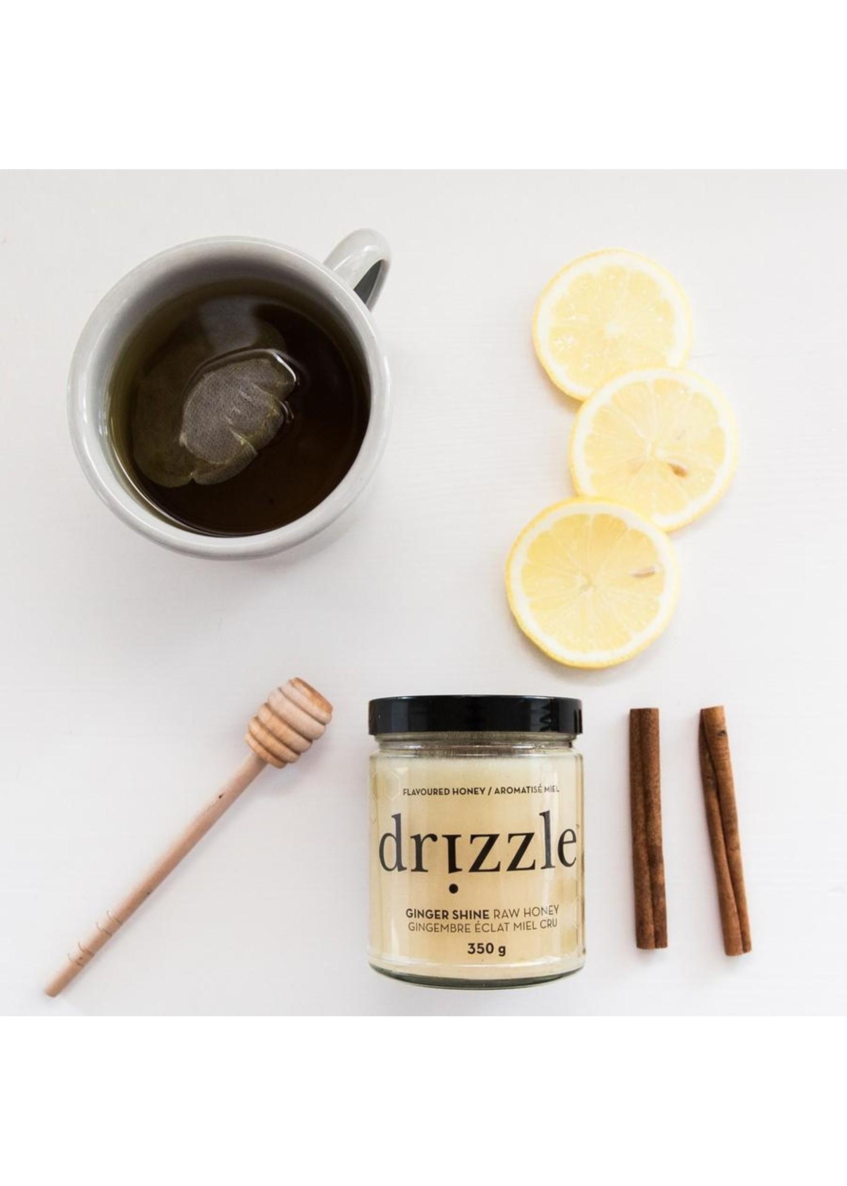 Drizzle Honey Ginger Shine Superfood Honey