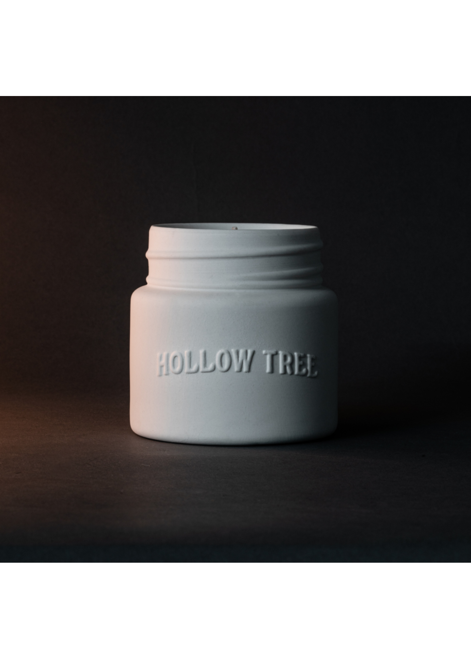 Hollow Tree Canoe Candle