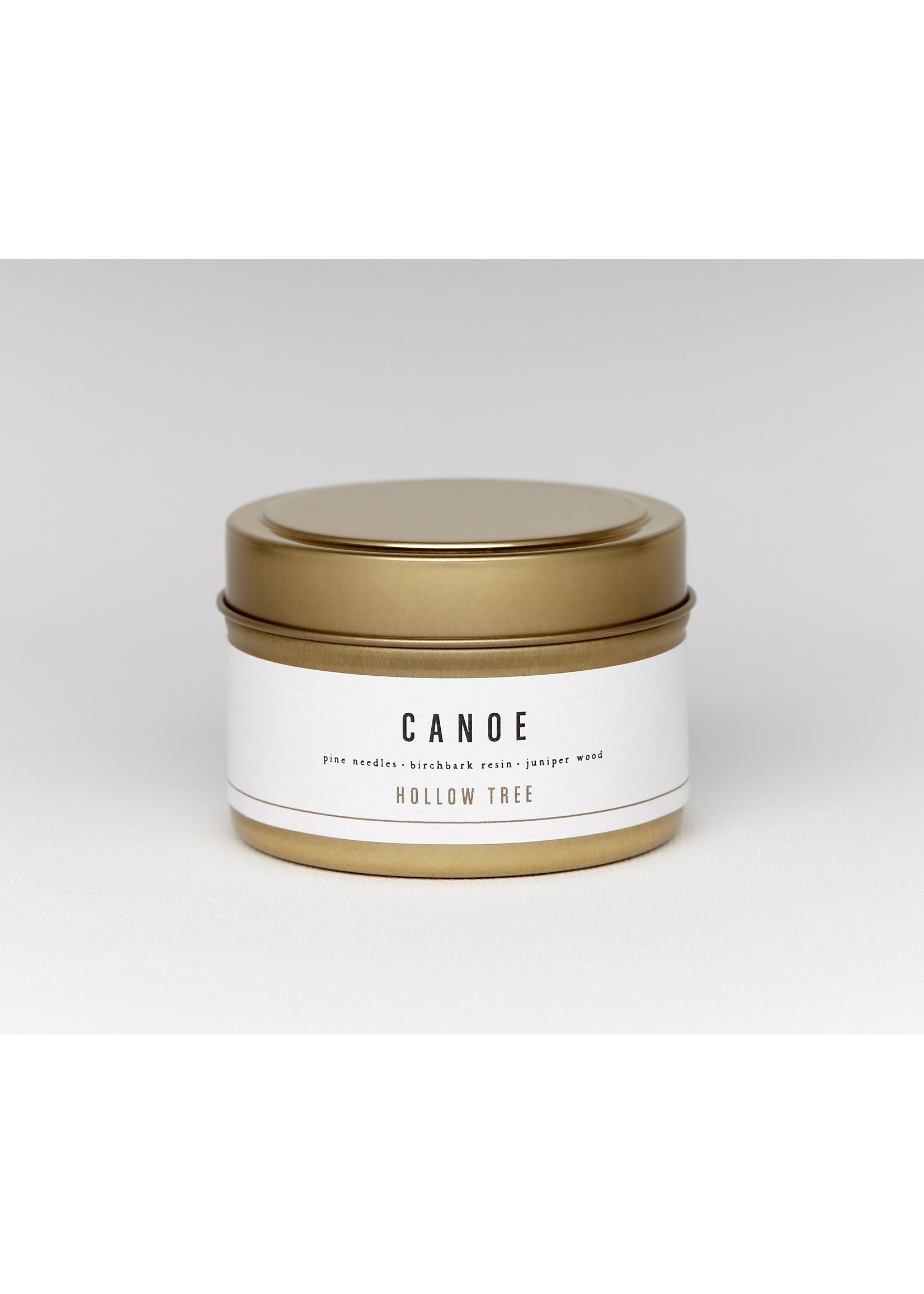 Hollow Tree Canoe Travel Candle
