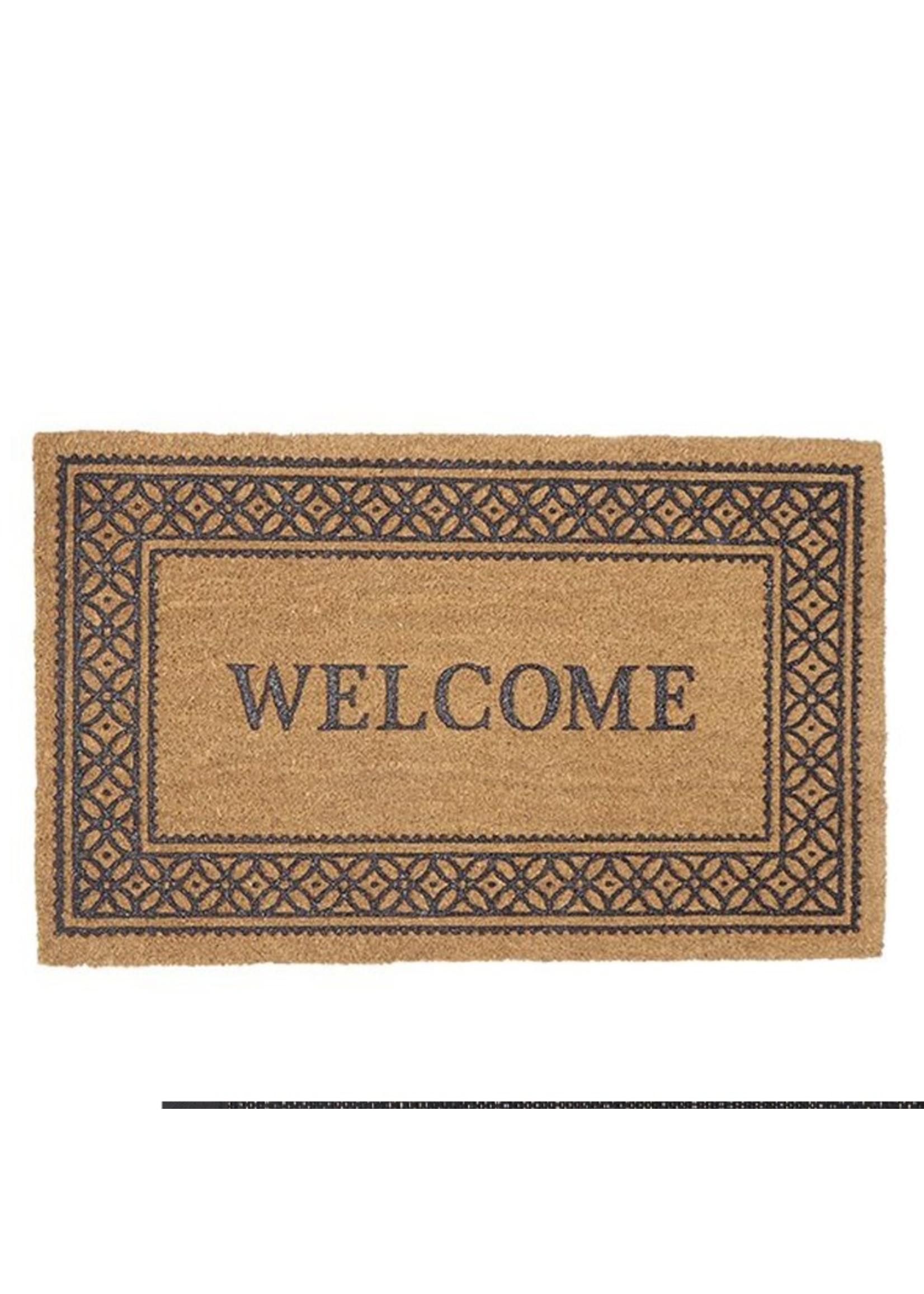 Welcome Printed Coir Mat