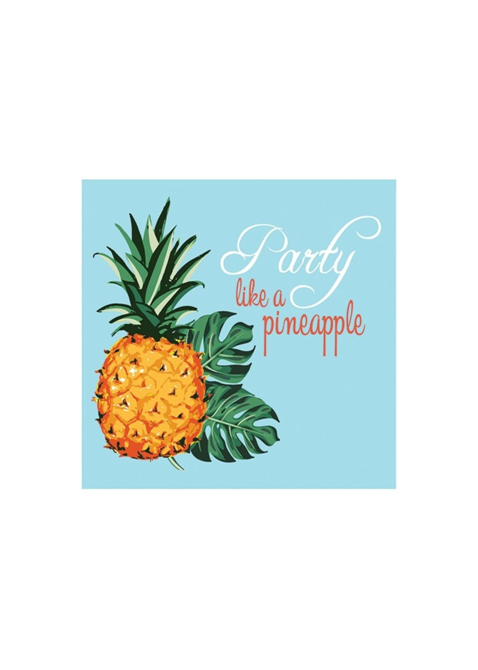 Party Like A Pineapple Cocktail Napkin