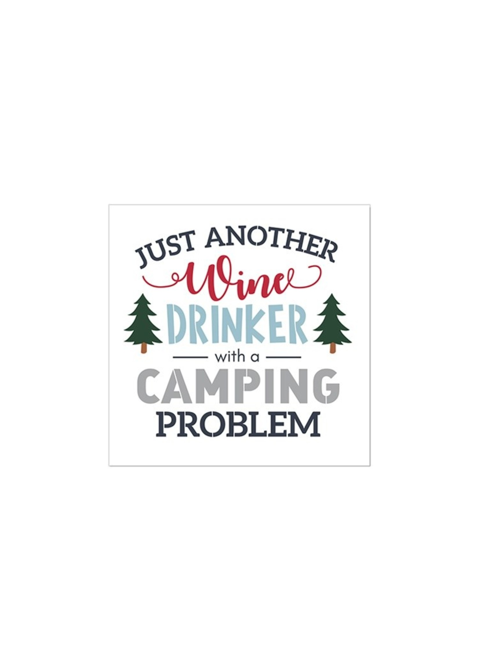 """""""Just Another Wine Drinker"""" Cocktail Napkin"""