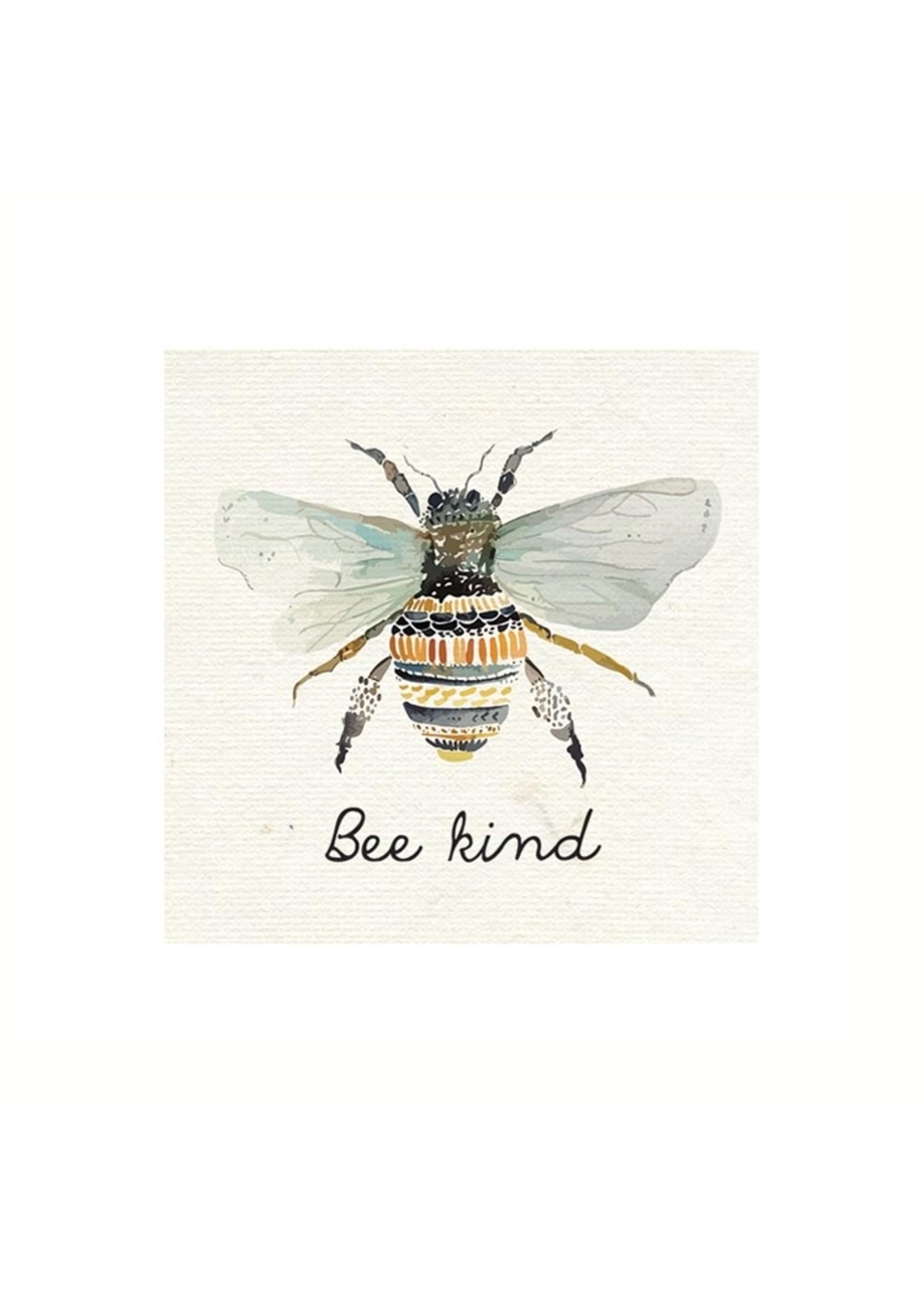 """""""Bee Kind"""" Luncheon Napkin"""