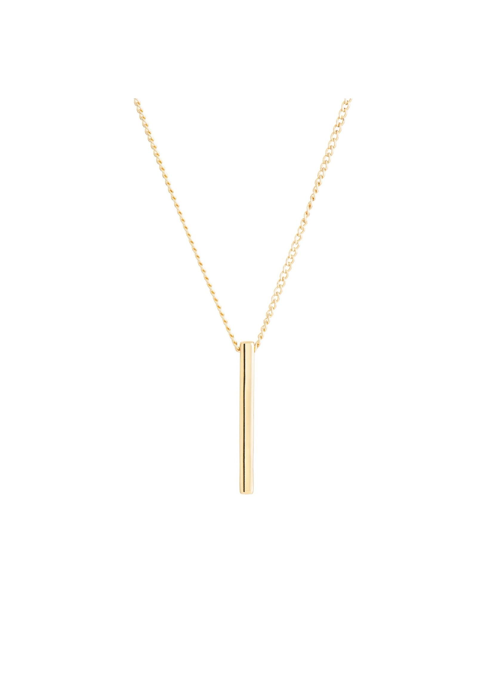 Match Stick Pendant - Gold
