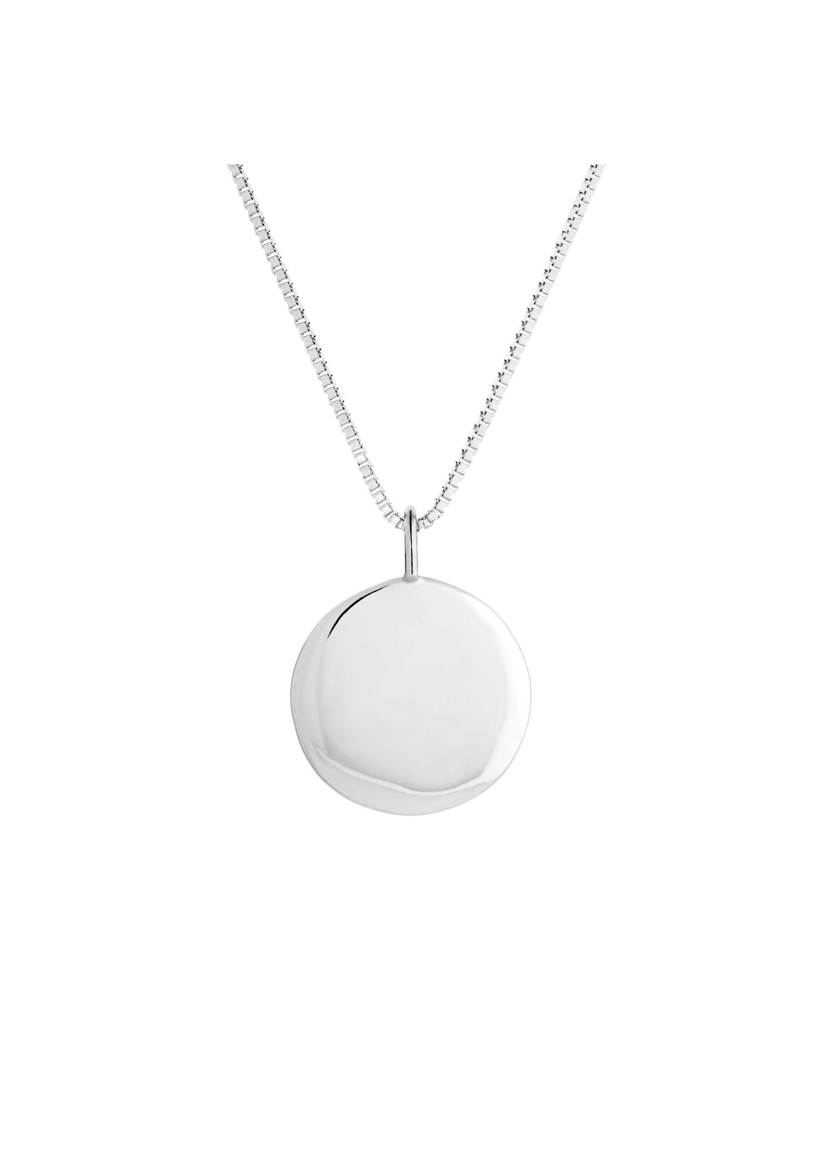 Lolo Jewellery Classic Disc - Silver