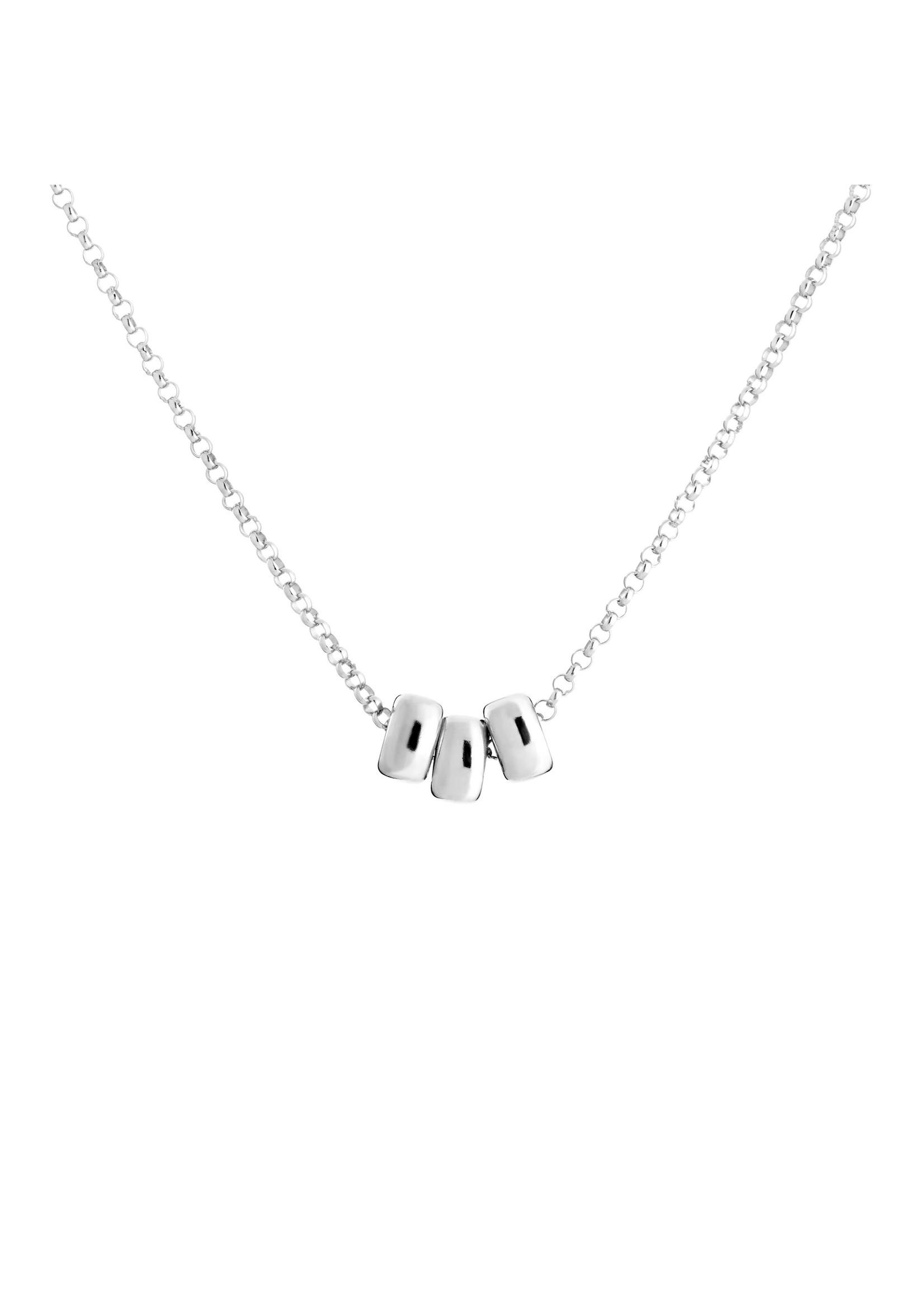 Lolo Jewellery Trio 6mm Rondell - Silver