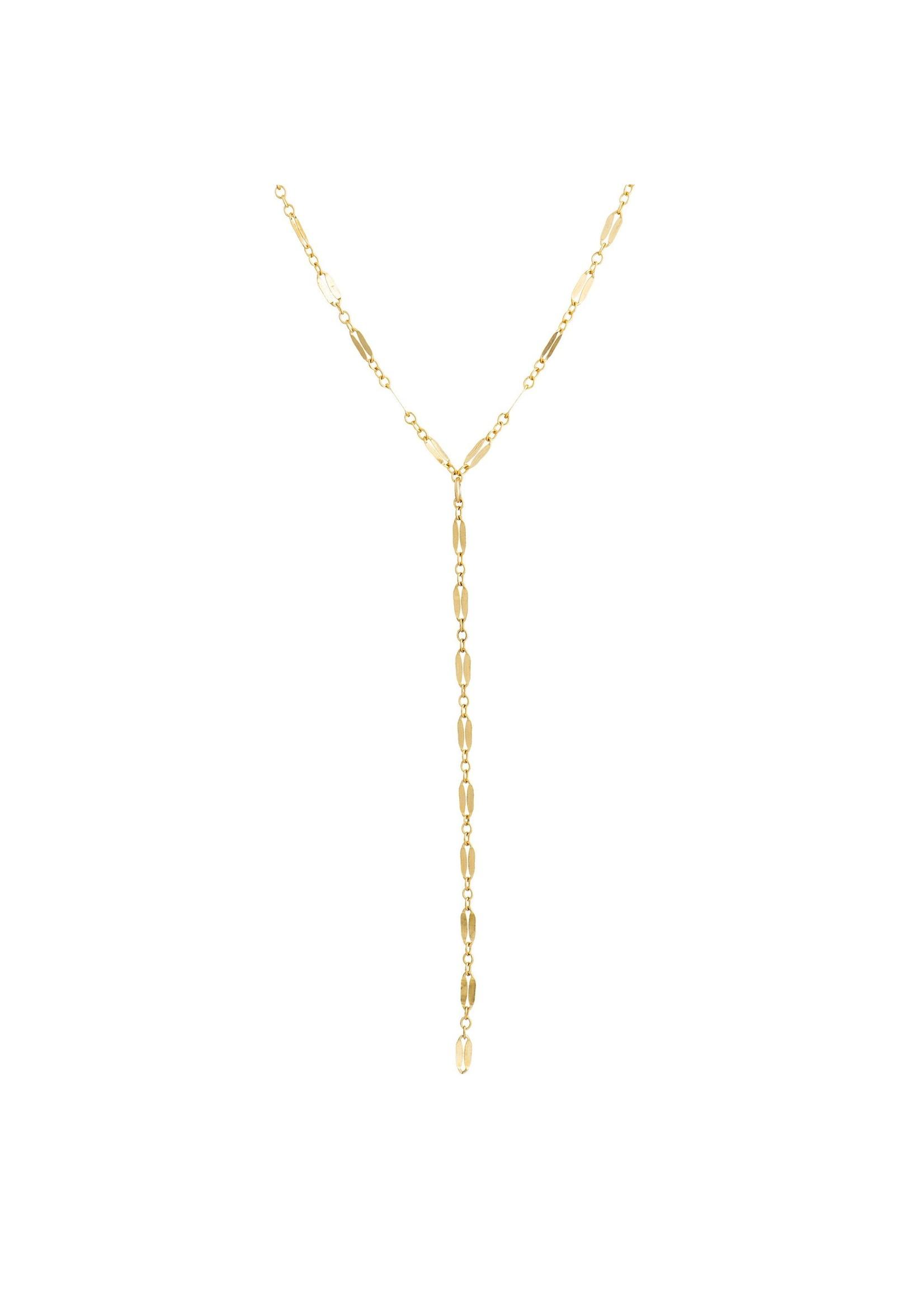 Lolo Jewellery Delicate Lariat - Gold