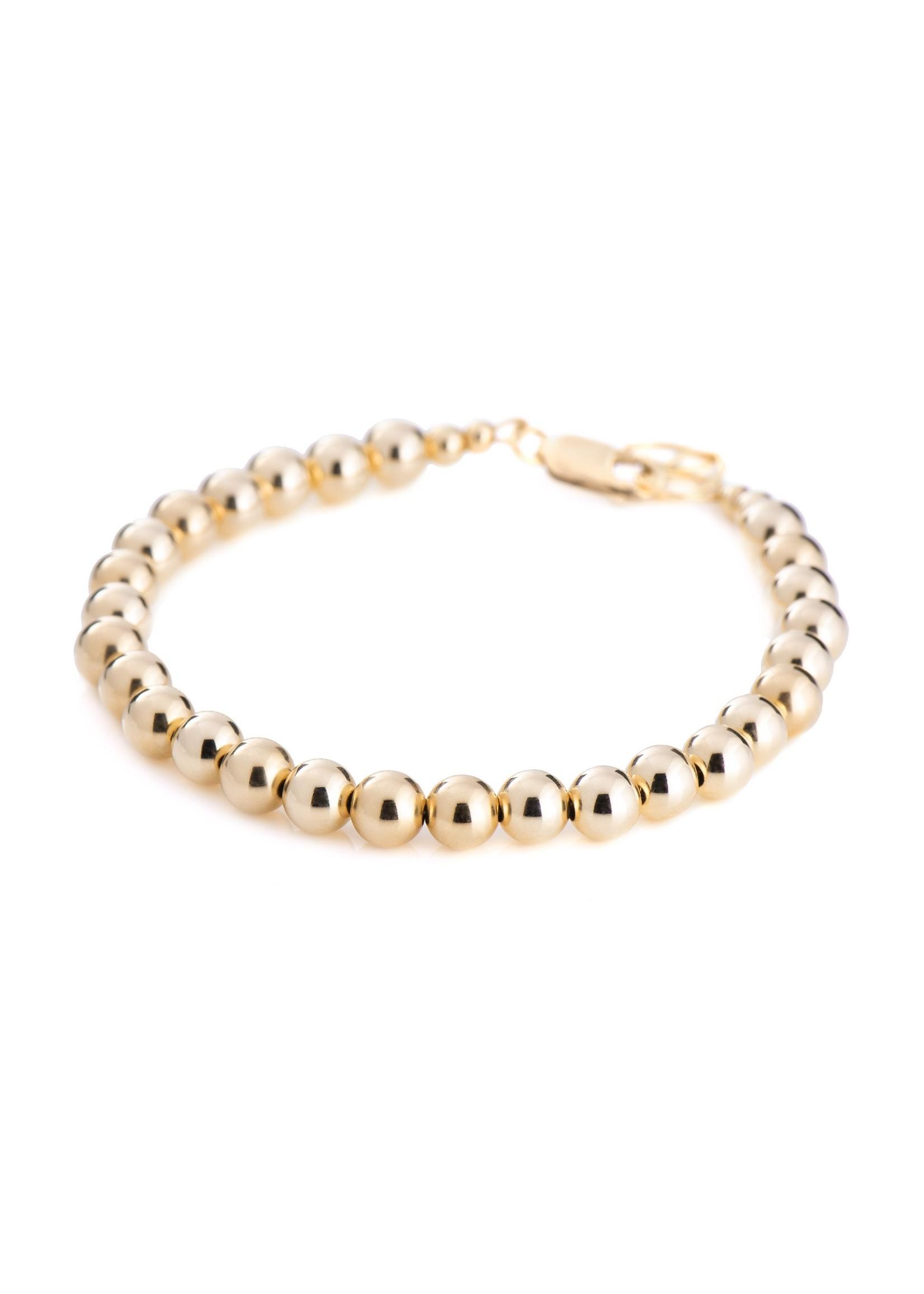 Lolo Jewellery Ball Bracelet - Gold