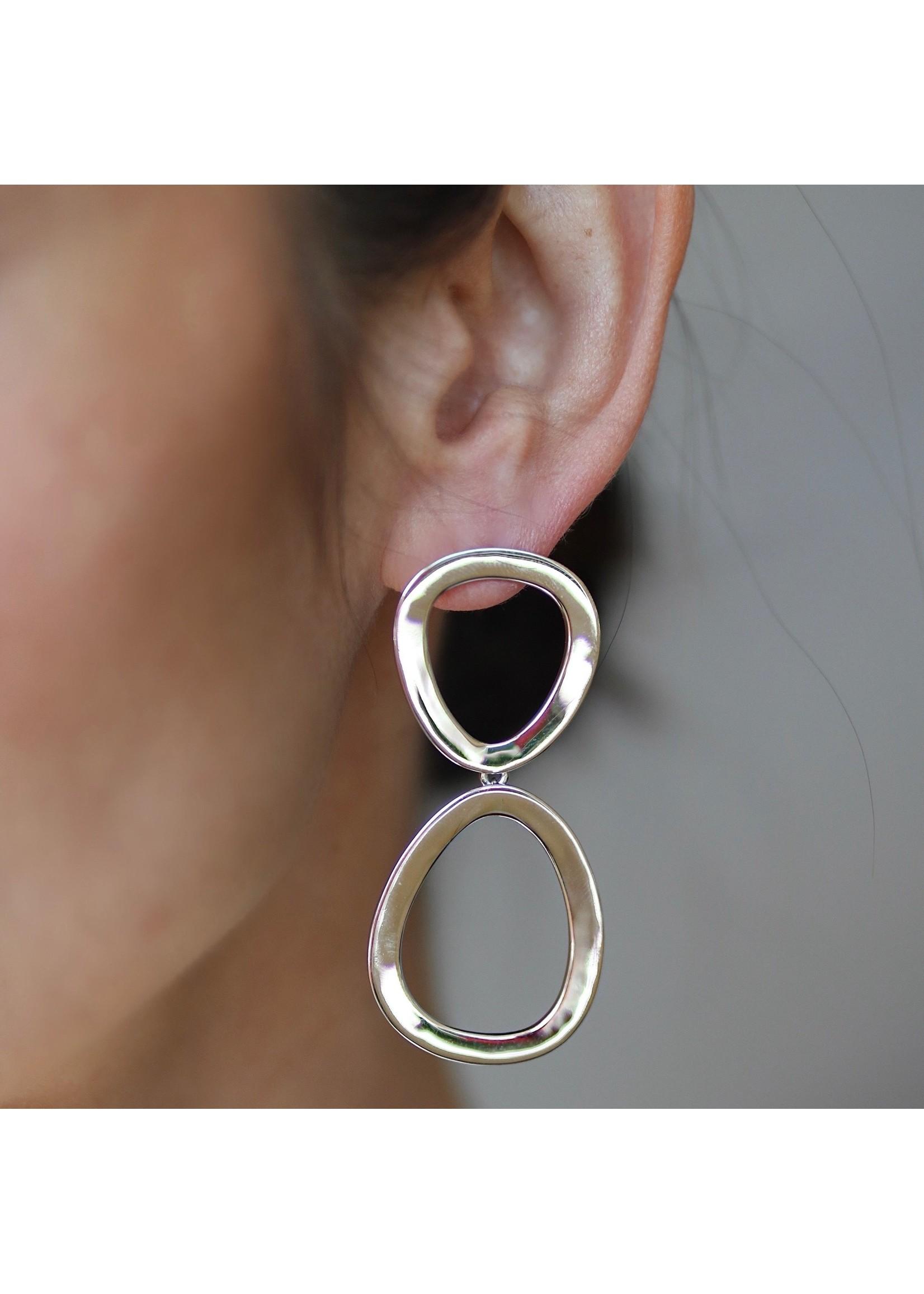 Lolo Jewellery Elise Earrings - Silver