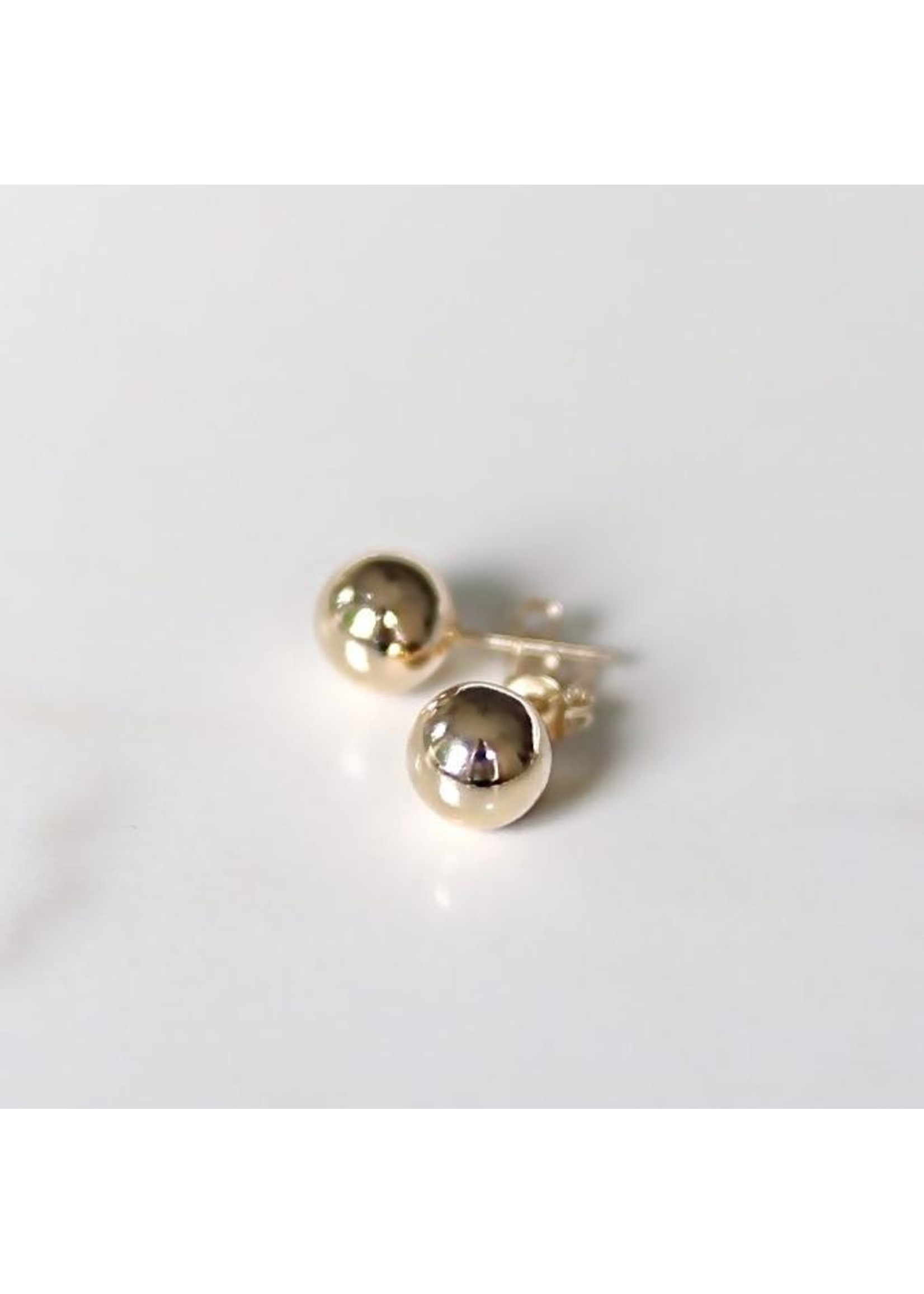 Lolo Jewellery Ball Studs - Gold