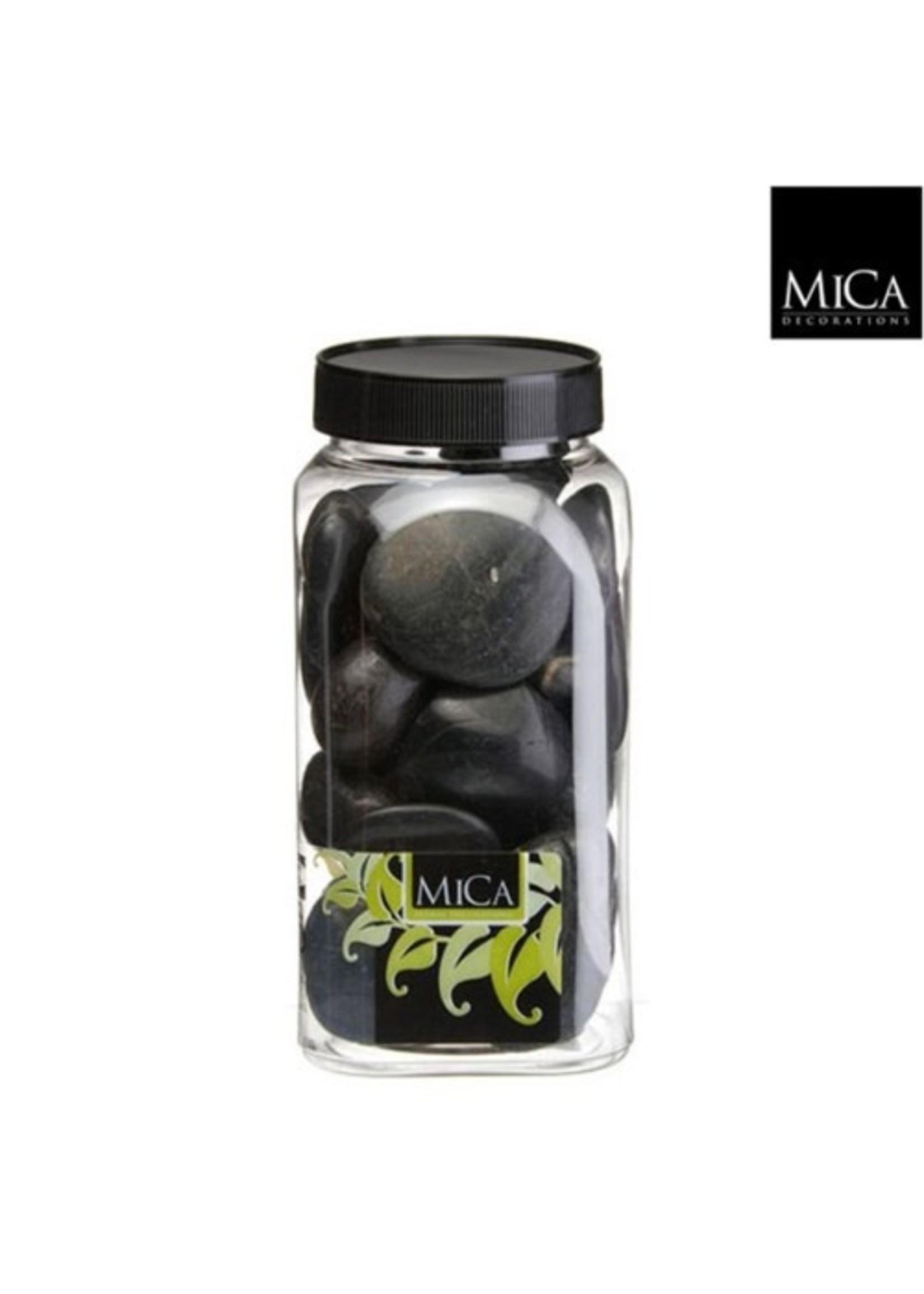 Mica Stones - Black